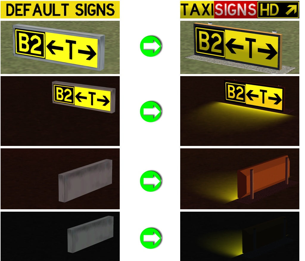 TaxiSigns HD